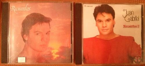2 cds del maestro juan gabriel recuerdos 1 y 2
