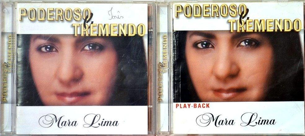 cd de mara lima poderoso e tremendo playback