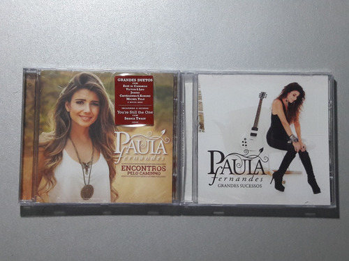 2 cd's paula fernandes encontros + gs = lacrados