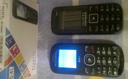 2 celular alcatel básico (leer descripcion)