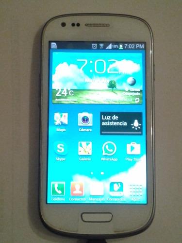 2 celulares samsung s3 mini libre impecables