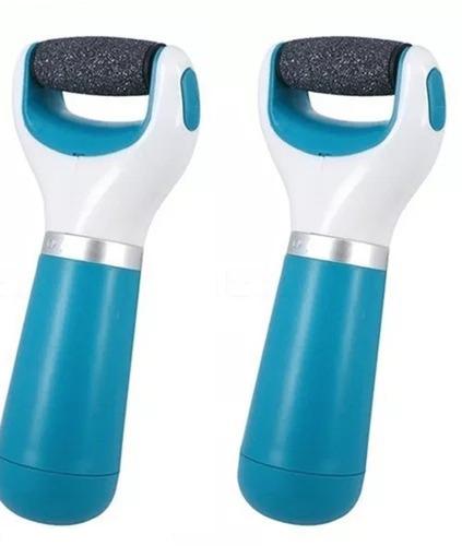 2 cepillo rodillo saca callos durezas piel seca + mini torno