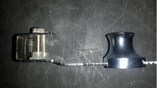 2 cerradura de seguridad para vitrina de vidrio seguro 120mm