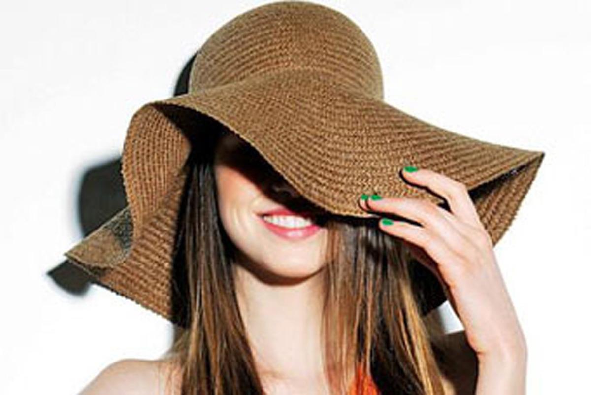 2 chapéu feminino modelo floppy + 2 canga de praia escolha. Carregando zoom. a1349815b9d