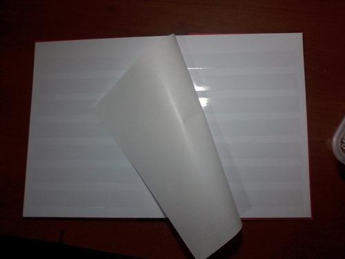 2 clasificadores 8 paginas/4hojas y 2 16 pag / 8 hoj
