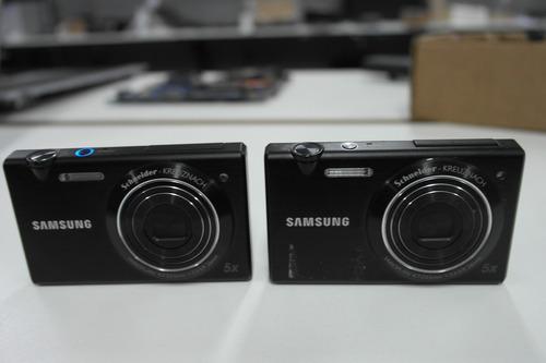 2 câmeras samsung mv800 com defeito pra tirar peças