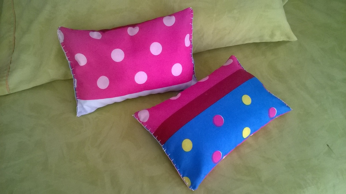 2 cojines almohada para ni os beb s infantil bs - Cojines para bebes ...