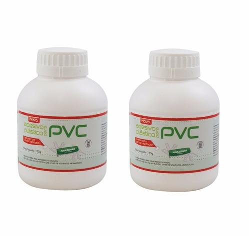 2 cola para cano pvc amazonas