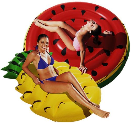 2 colchonetas gigantes para piletas pelopincho inflables rio