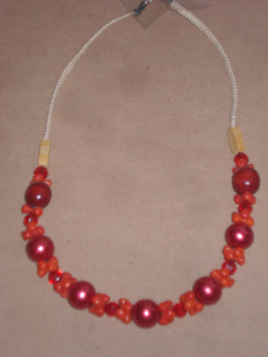 ba67cdac60af 2 Collares Rojos  200 -   200.00 en Mercado Libre