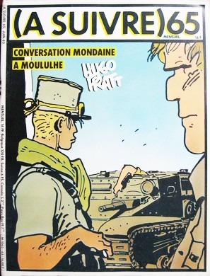 2 comic  a suivre  (continuara) n 44 y n 65 en frances