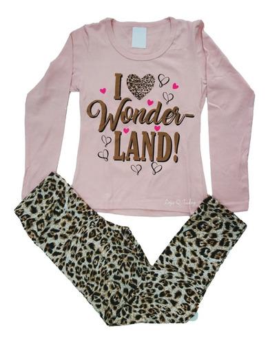 2 conjunto juvenil infantil roupa menina atacado sortido