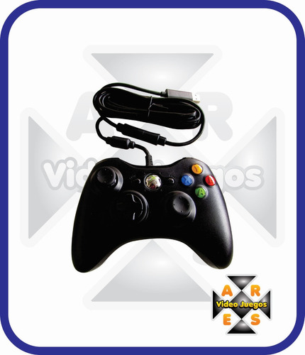 2 control alambrico xbox 360 original envio gratis -ares
