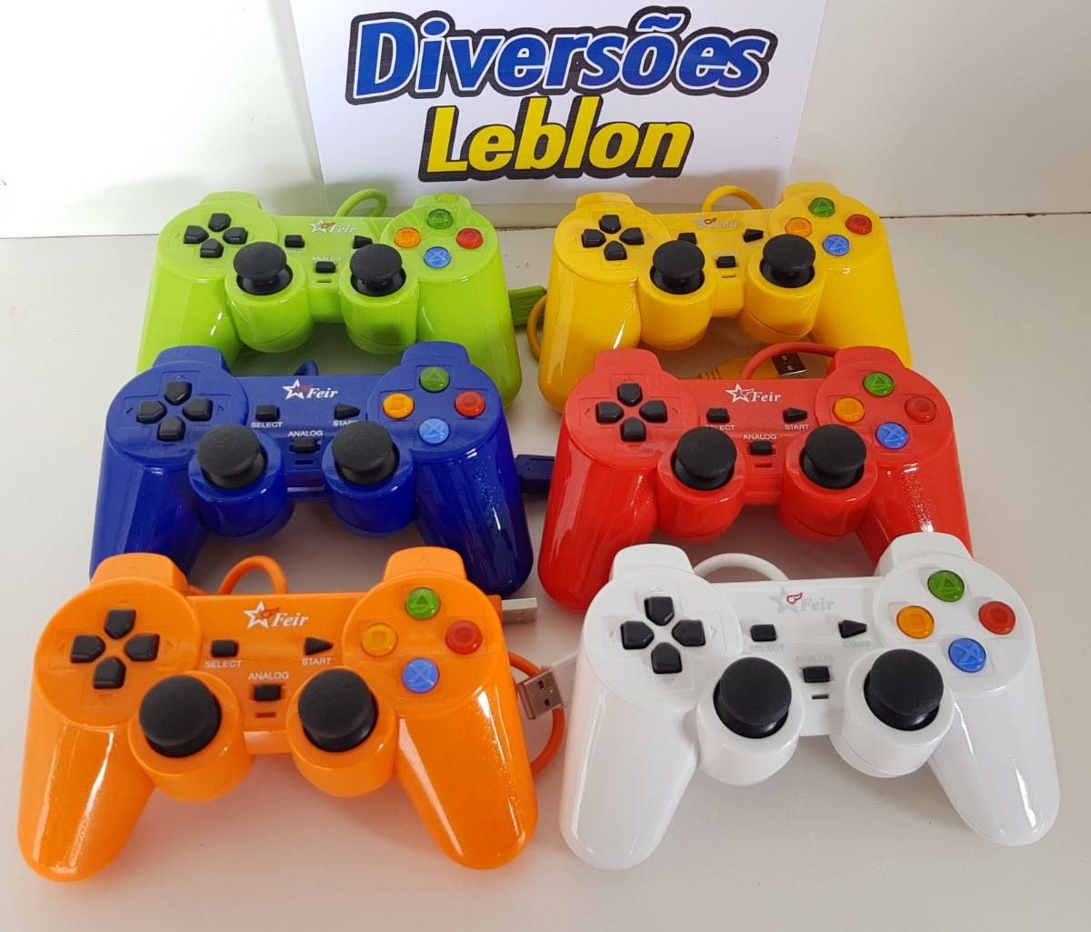 2 Controles Colorido Usb Pc Windows 10 7 Retropie Note Games