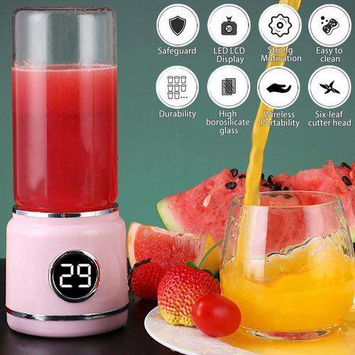2 cores portátil elétrico juicer blendor usb mini frutas mis