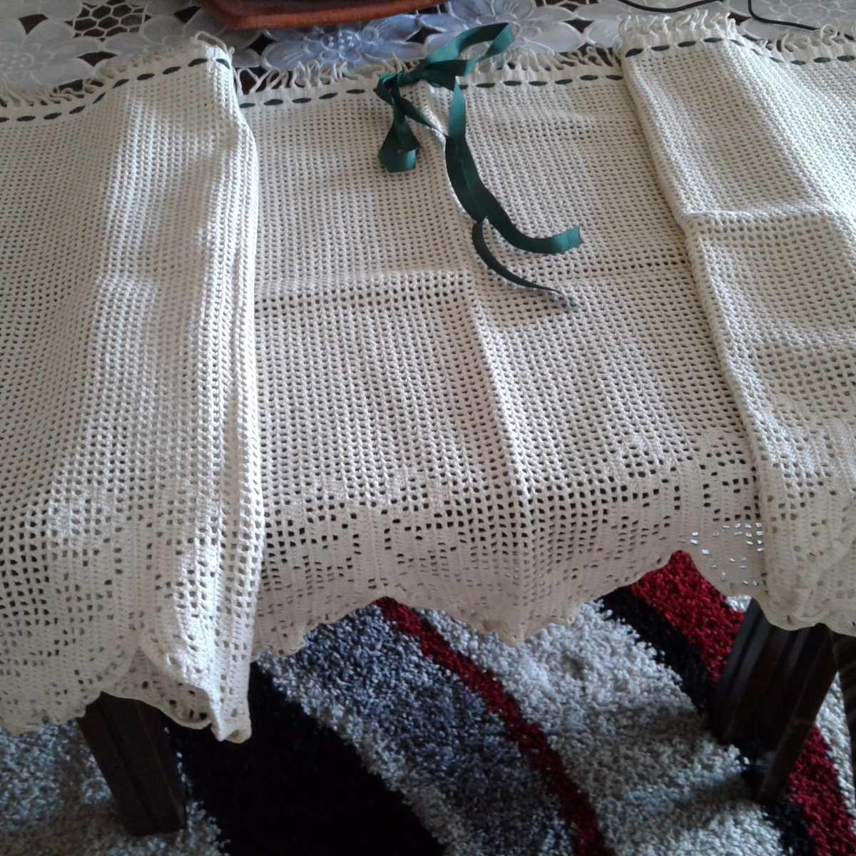 Cortinas Para Cocina Tipo Crochet En Mercado Libre Argentina ~ Cortinas De Ganchillo Para Baño