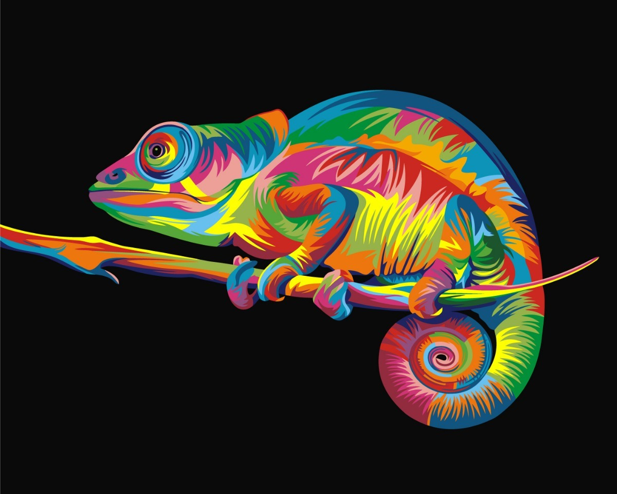 2 Cuadros En Lona Tela Vinilica Animales Full Color. - $ 999,00 en ...