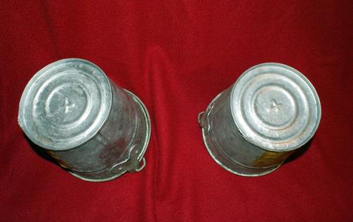 2 cubetas de lámina galvanizada #4