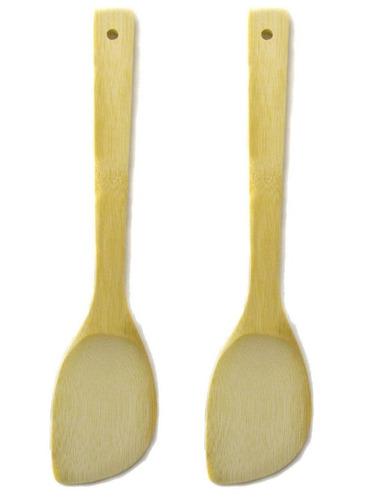 2 cuchara de bambú de las pc que cocina la es + envio gratis