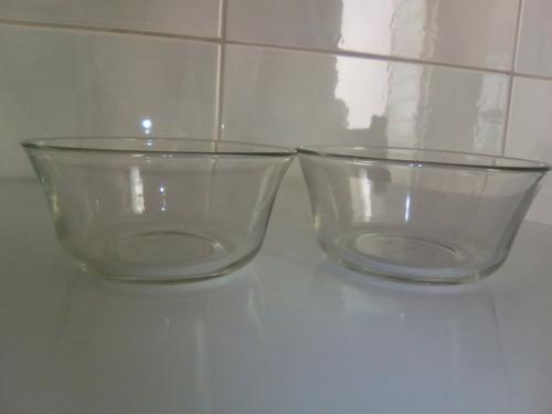 2 cumbuquinhas em vidro transporte da duralex
