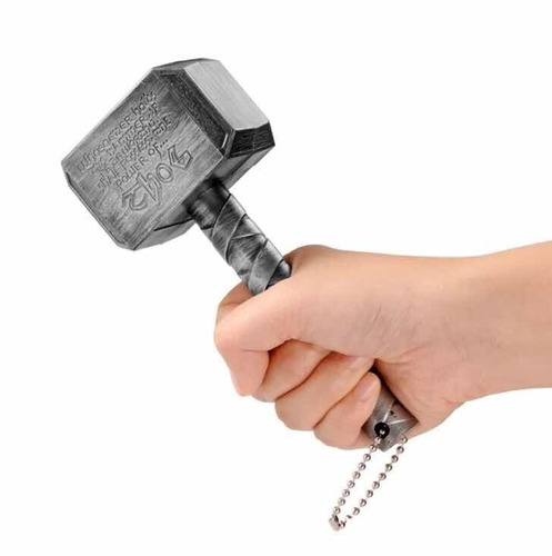 2 destapadores forma de martillo de thor