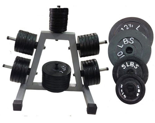 2 discos  10 lbs para mancuernas pesas kit  estandar