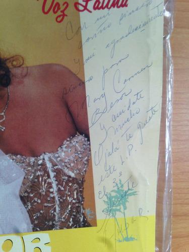 2 discos de ambar , firmados , 1990