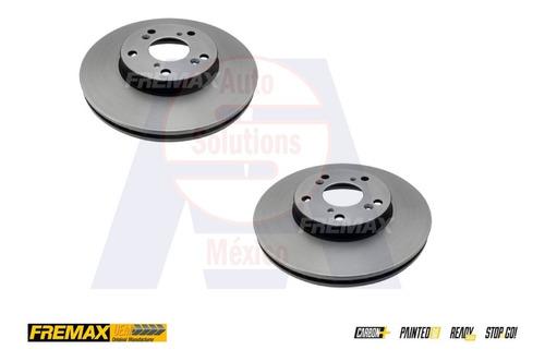 2 discos de freno (d) honda element 2.4 l4 2003-2011