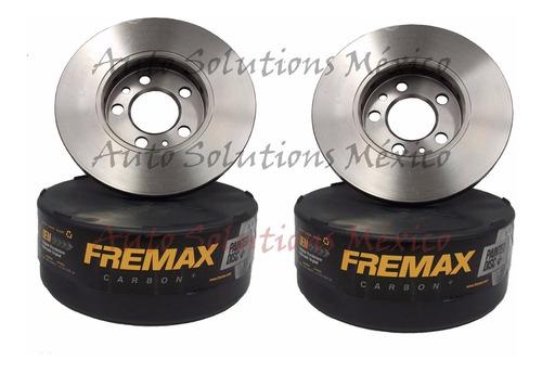 2 discos de freno (d) mazda 3 2.3 l4 2004-2015 (300mm)