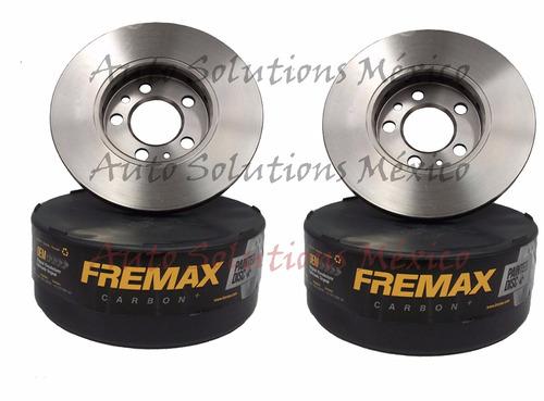 2 discos de freno del toyota camry 3.3l 2004-08 solara 4125