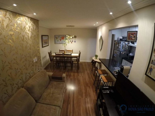 2 dormitórios, 57 útil,  garagem, próximo shop. plaza sul - bi23014