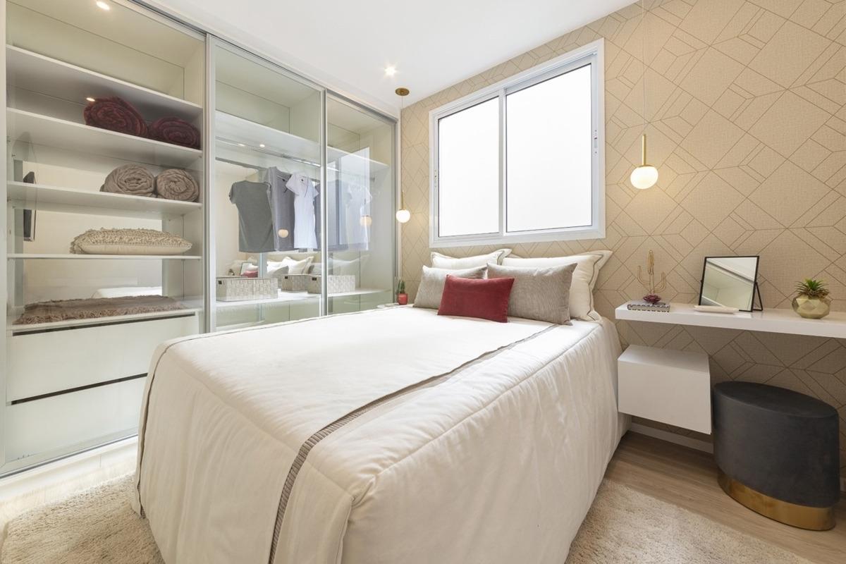 2 dormitórios, á 5 minutos do metrô-últimos dias do decorado