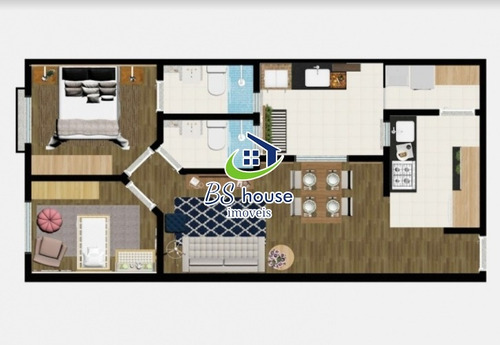 2 dormitórios com suíte - 4314