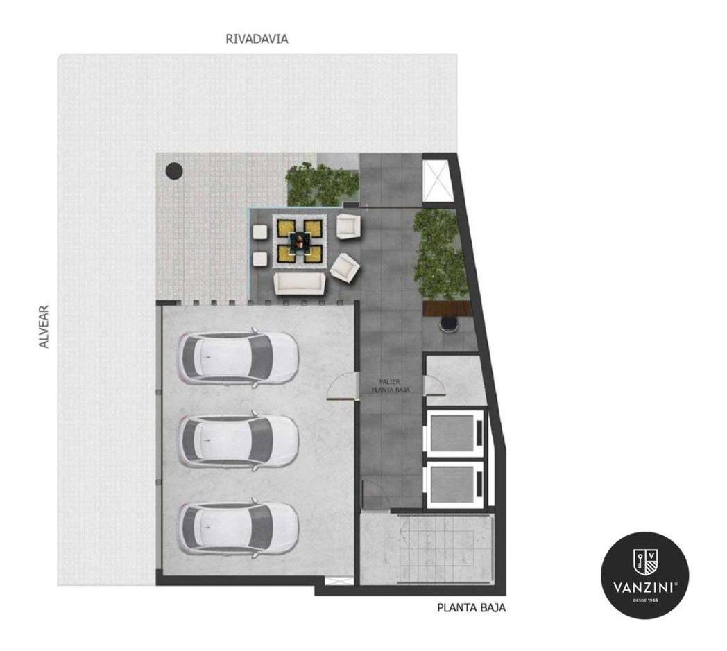 2 dormitorios con balcón en zona río