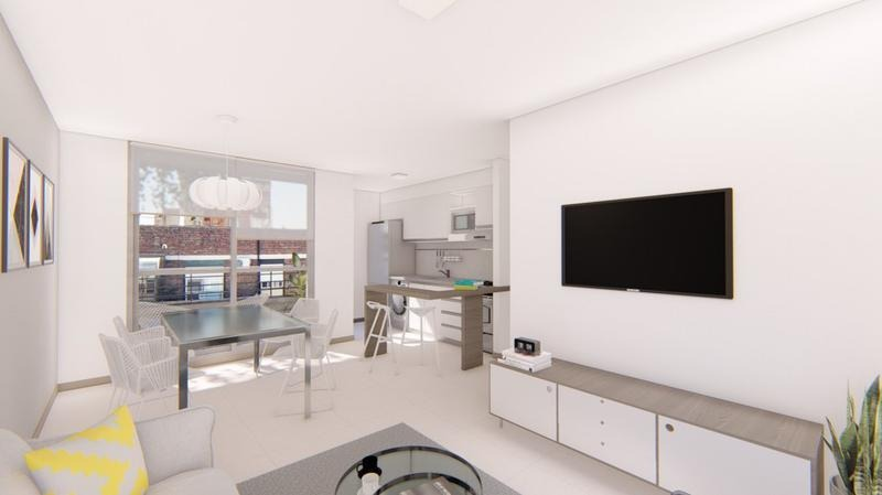 2 dormitorios con balcon - zona centro - amenities
