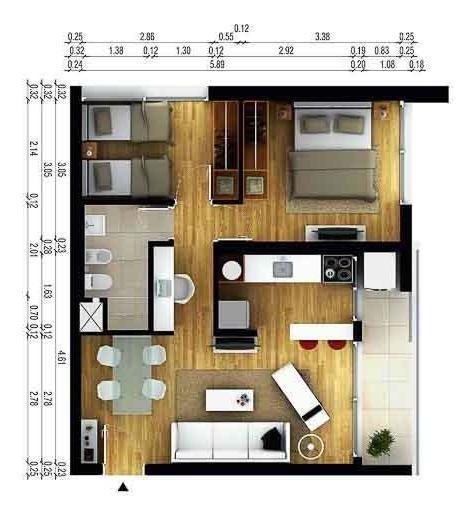 2 dormitorios con terraza | a estrenar | cordón