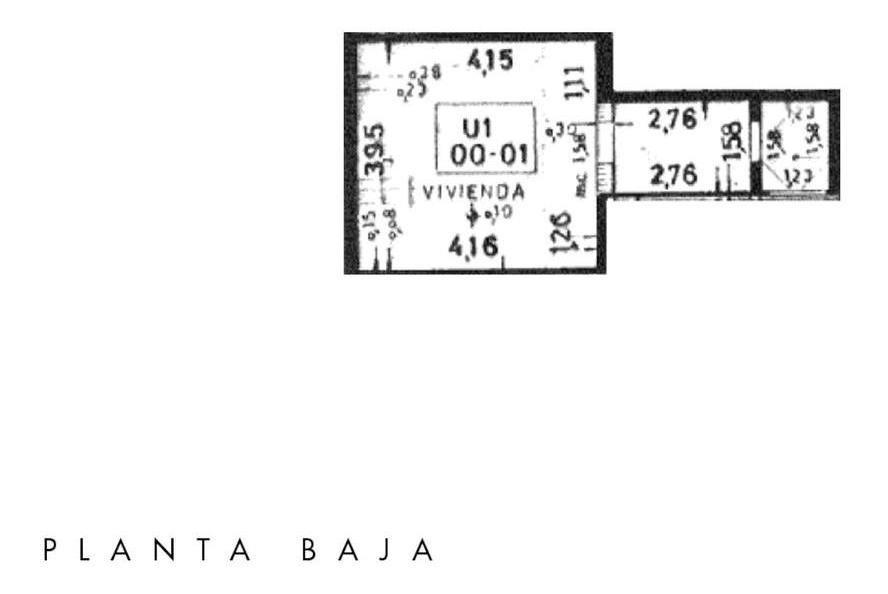 2 dormitorios en ph | quincho