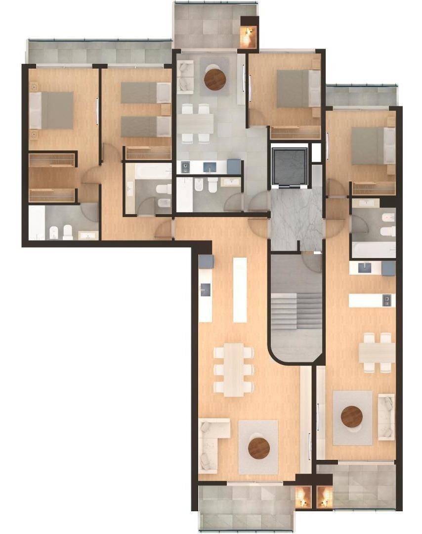 2 dormitorios moreno 2331 109m2