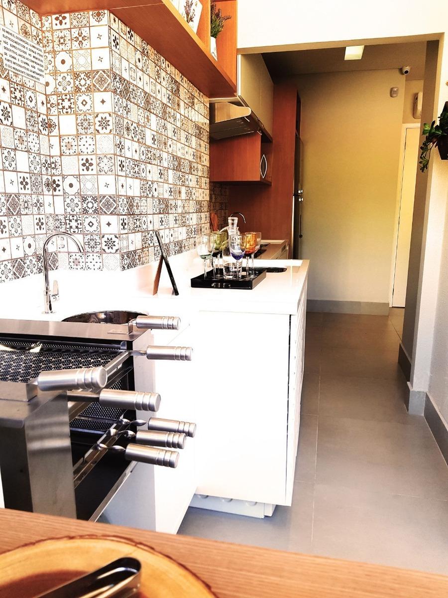 2 dormitórios terraço gourmet (zona oeste)
