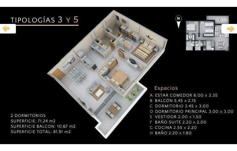 2 dormitorios | zorilla de san martin