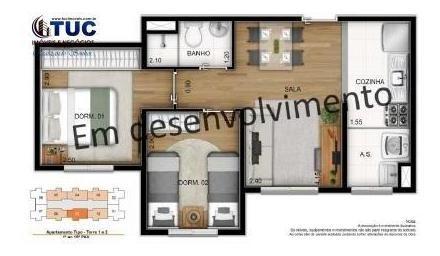 2 dorms c/ 1 vg-sacomã r$500 entrada,escritura e piso grátis - 8079