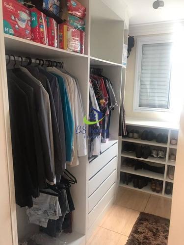 2 dorms com suíte e closet - armários planejados - 5441