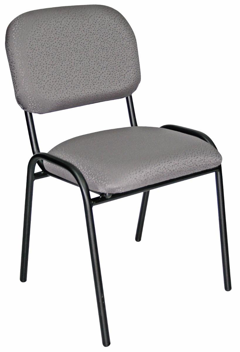 2 dos sillas de visita economica tela o vinil envio s for Sillas oficina economicas