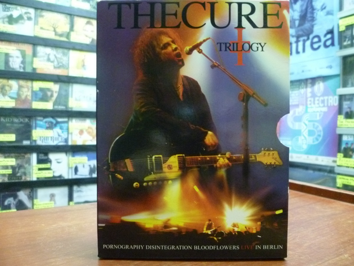 2 Dvd The Cure - Trilogy Live In Berlin - Smiths (top Music) - S/ 49,00