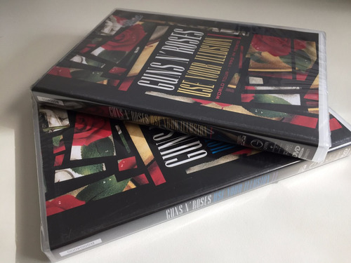 2 dvds guns n' roses use your illusion i & il - lacrados!!!