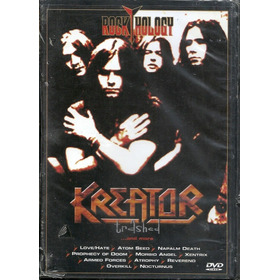 2 Dvds Kreator E Ozzy - Rock Hology Original