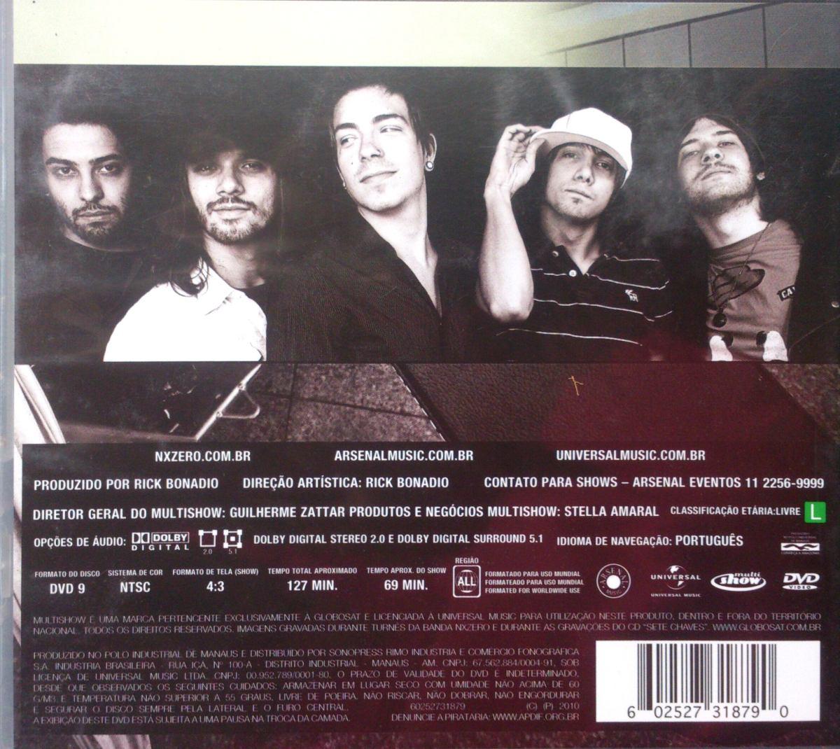 O SETE CHAVES NX CD NOVO DO ZERO BAIXAR