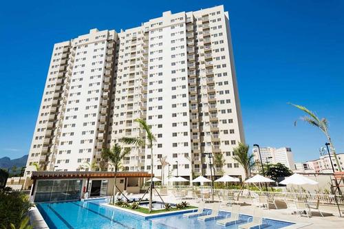 2 e 3 quartos em del castilho - condomínio bairro rio parque