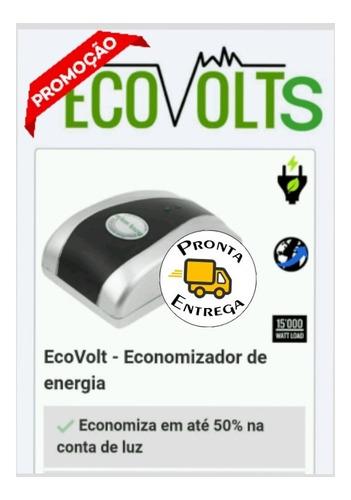 2  economizador de energia elétrica redutor ecovolt! 220v