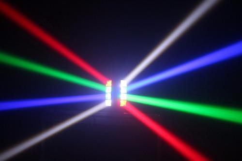2 efecto mini spider  big dipper lm30 8 x 3w luces dj esdj